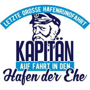 Junggesellenabschied Team Kapitän