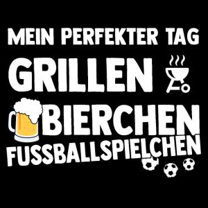 Grillen - Bier - Fussball
