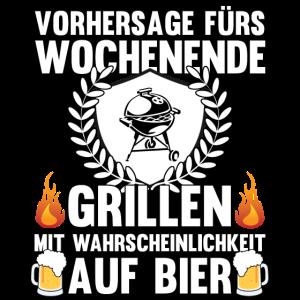 Grillen und Bier - Mein Wochenende