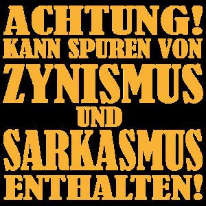 Zynismus-Sarkasmus