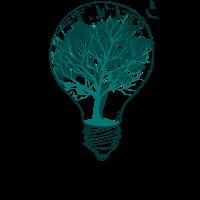 Glühbirne Natur Baum