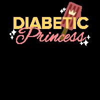 Lustiger Diabetiker Spruch - Diabetic Princess