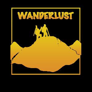 Wanderlust Bergsteiger
