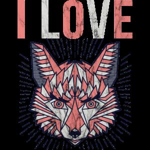 Fuchs Geschenk Shirt