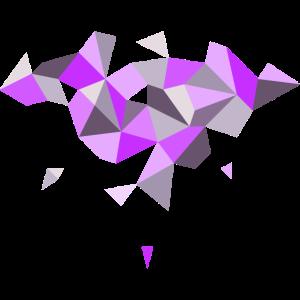 abstraktes Muster lila