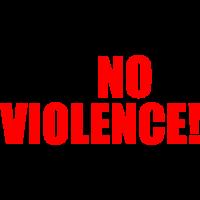 I say no to violence