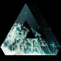 Meer Wasser See Geschenk Penrose Dreieck