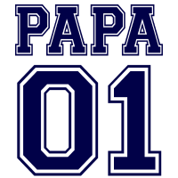 Vatertag - Dad Nummer 1 der Welt - Nummer Eins
