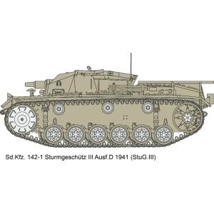 Stug III Ausf D.