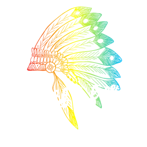 Wild und Frei Wild & Free Ureinwohner Indianer