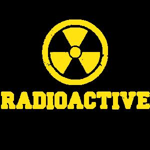 Radioactive mit Symbol