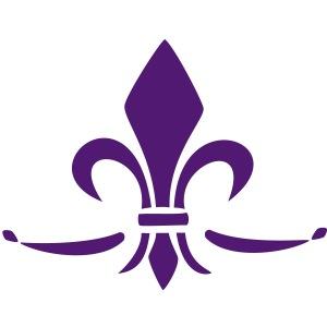 Fleur de Lys, Trinity Symbol, Französische Lilie,