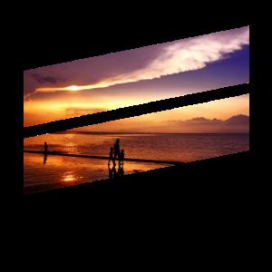 Sommer - Strand Sonnenuntergang