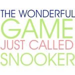 wonderful game snooker