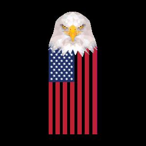 USA Flagge Adler Tshirt