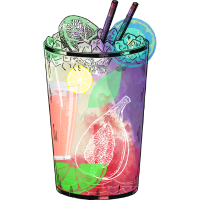 Sweet Summer Cocktail