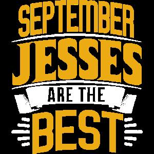 September Jesse T-shirt Geschenk Geburtstag