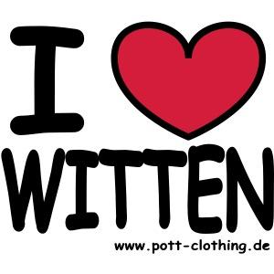 I love Witten by RPC - Männer T-Shirt klassisch