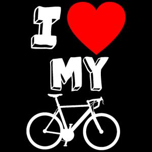 ich liebe mein fahrrad