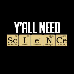 Naturwissenschaft Science T-Shirt