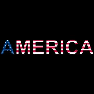 AMERICA - stars and stripes