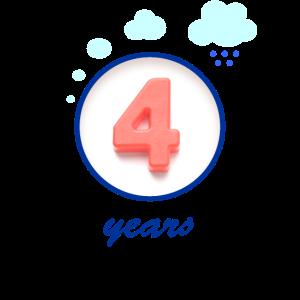 4 years: Kinder Geburtstag