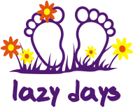 Sprüche- Kult- & Fun-Shirt: Layzy Days