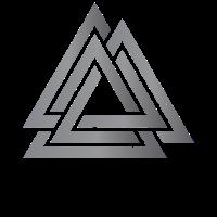 Valknut Norse Viking Runen Symbol