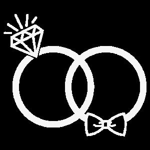 Hochzeit Eheringe Ring Diamant Fliege Paar JGA ws