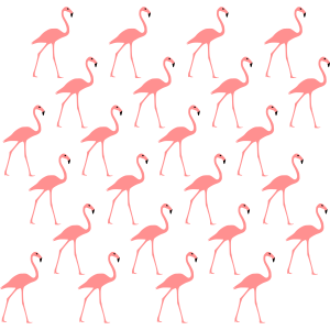 Flamingo rosa Muster