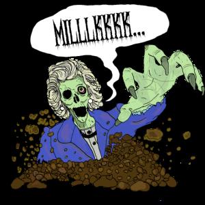 Zombie Thatcher Milch-Snatcher
