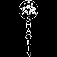 Shaolin Berlin Logo vertikal weiss