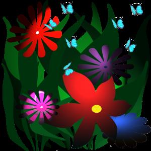 Blumen-Sommerfarben- Geschenkidee