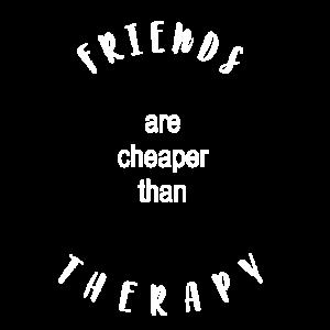Freunde sind wie Therapeuten