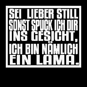 Lustiges Llama Geschenk - Witziger Lama Spruch