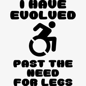 Dankzij mijn rolstoel heb ik mijn benen niet nodig