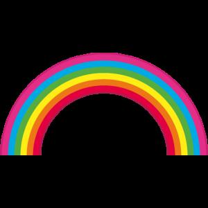 Regenbogen / Halbkreis /ohne Text