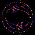 Colored CORE. logo #2 in Black