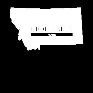 Montana Home State Pride T Shirt Gift T Shirt