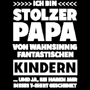 Stolzer Papa von Kindern 1 Shirt
