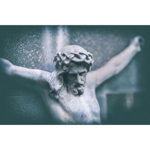 Jesus Kreuz Friedhof christlich