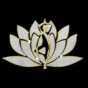 Yoga Schmuck Anhänger Bling Bling
