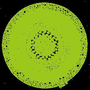 Mandala3 green