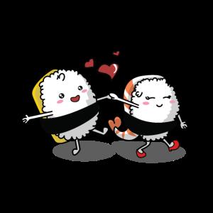 Sushi Liebespaar