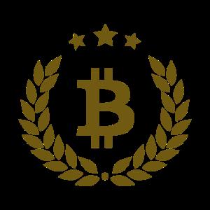Bitcoin Logo Edel