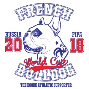 World Cup 2018 French Bulldog supporters