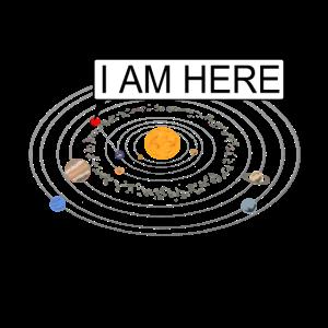 Ich bin hier Sonnensystem