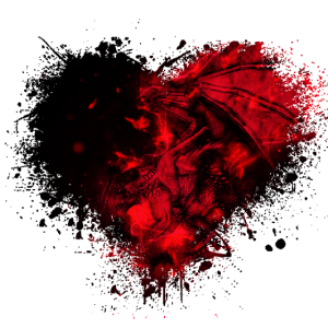 Drachen-Liebe rot