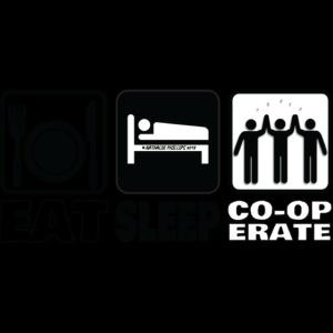 Eat Sleep Co op Mousepad