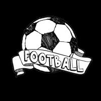 Doodle Art Football